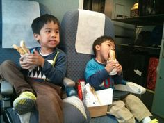 Traveling on the Amtrak with kids