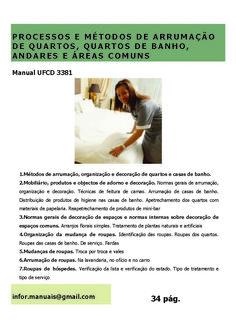 3381. Processos e métodos de arrumação de quartos