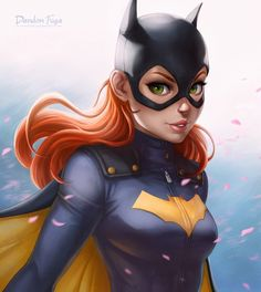 Art Digital Painting : Dessiner Batgirl sous Photoshop et Painter