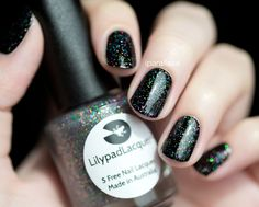 $10 Lilypad Lacquer Cosmic Constellation (new bottle style) Out in Space Collection - Collab with iParallaxe