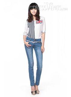Jeans, Pants , $16.99, Carefree Light Blue Jeans