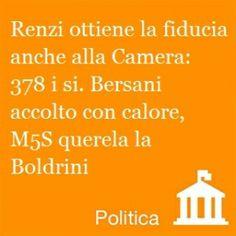 Matteo Renzi ottiene la fiducia della Camera Leggi le altre notizie su www.newdle.it!