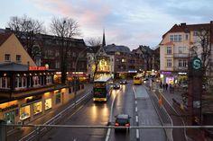 Blick vom S-Bahnsteig Zehlendorf