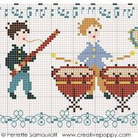 Perrette Samouiloff - The little orchestra (large pattern) (cross stitch)