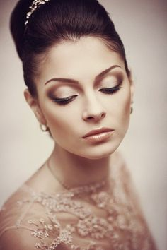 great makeup - eyeshadow, eyebrows
