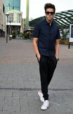 H&M X Marni Shirt, Acne Studios Johna Sweatpants, Adidas Stan Smith Sneakers…