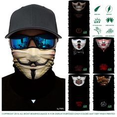 Men's Scarves 3d Skull Cycling Bandana Dog Face Mask Tube Neck Gaiter Ski Masks Magic Bandana Cycling Balaclava Animal Joker Seamless Scarfs By Scientific Process
