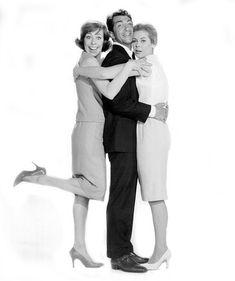 "Carol Burnett, Dean Martin and Elizabeth Montgomery ""Who's Been Sleeping in My Bed"", 1963"