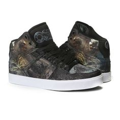 OSIRIS NYC 83 SKATEBOARDING  Mans Athletic Sneakers Shoes With Fur US Man 5-14