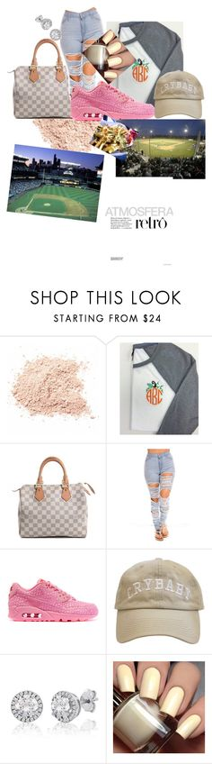 """""""Baseball game with that guy<<"""" by naturallydee ❤ liked on Polyvore featuring Louis Vuitton and NIKE"""