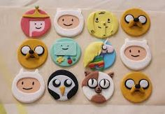 Image result for cupcakes adventure time finn
