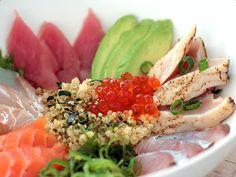 Chirashi Sushi Quinoa {recipe}