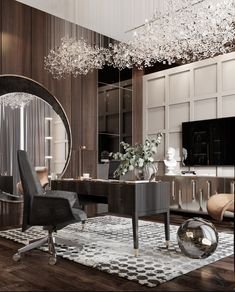 Luxury Homes Interior, Luxury Home Decor, Interior Exterior, Luxury Apartments, Luxury Houses, Lobby Interior, Office Interior Design, Office Interiors, Interior Design Inspiration