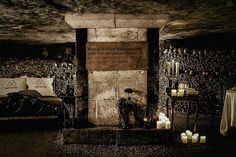 Millions of people sleep underneath the streets of Paris each night. They're all dead. No money is required for this Halloween night's stay in the Paris Catacombs, but you do need to be alive. This unique accommodation will be offered...