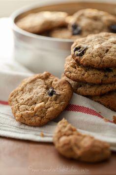 Cherry Cashew Cookies | Gourmande in the Kitchen