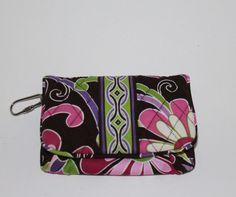 Vera Bradley Purple Punch Flap Wallet . Starting at $15 on Tophatter.com!