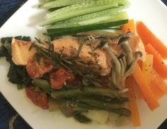 #salmon #steamed