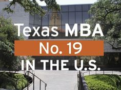McCombs Takes New All-Time High in Financial Times Ranking