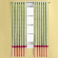 Kids Window Curtains: Kids Colorful Window Curtain Panels in Curtains