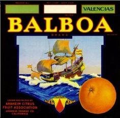 Balboa Brand - Anaheim, California