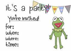 Recursos Fiesta Los Muppets