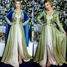 Fame Dubai Home - FameDubai Magazine Moroccan Caftan, Moroccan Style, Caftan Gallery, Hijab Fashion, Fashion Dresses, Caftan Dress, Oriental Fashion, Mode Hijab, African Attire
