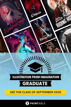 Check out the insanely creative final digital artwork masterpieces of the students of Fall 2020 Illustration From Imagination. I couldn't be prouder of their progress! via @paintablecc Magazine Illustration, Digital Painting Tutorials, Master Class, The Fool, Students, The Incredibles, Fall, Imagination, Artwork