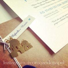 Santorini destination wedding invitation Design: Marina Curak