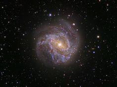 Spiral Galaxy M83: The Southern Pinwheel