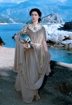 """"""" Isabella Rossellini as Athena The Odyssey (1997) """""""
