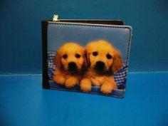 Dog Puppy Pet Golden Retriever Purse Small Wallet Bag BAG172 NEW