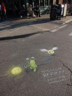 David Zinn | Amazing Street Art Collection