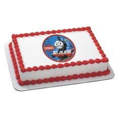 Thomas the Tank Engine wants to join your special bash with this delicious cake by Tiffany's Bakery.