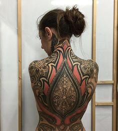 "2,967 Likes, 17 Comments - Encyclopedia of Ornamental (@ornamentalika) on Instagram: ""Tattoo by @lesacrelinee"""