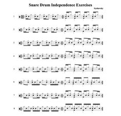 11 Drum Exercises for Speed, Independence, and Control