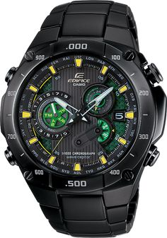 Casio Edifice EQWM1100DC-1A2.  Mens Edifice Black Label Solar Multi-Band Atomic Alarm Chronograph  Watch. Review at:  http://www.ablogtowatch.com/casio-edifice-eqwm1100dc-1a2-watch-review/