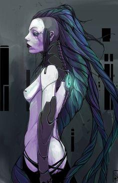 ArtStation - cyberpunk, Shane Walters