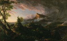 The Course of Empire: The Savage State Thomas Cole. Oil on canvas, 1834