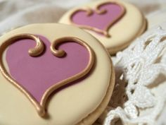 Wow - these cookies are gorgeous...