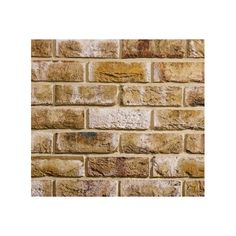 London Weathered Yellow Traditional Blend Bricks Slips