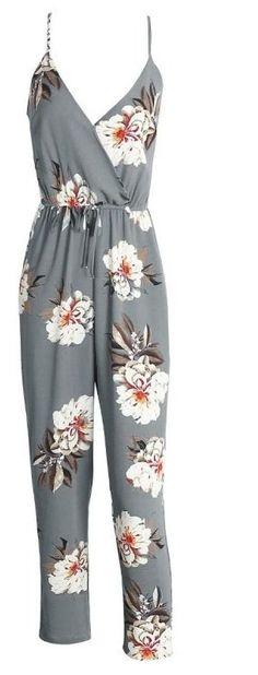 Shiloh Floral Jumpsuit