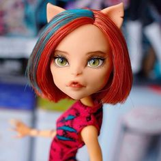 #몬스터하이 #몬하돌 #몬스터하이돌 #리페인팅 #돌스타그램 #doll #repaint #repainting #monsterhigh #dollrepainting #dollstagram #faceup