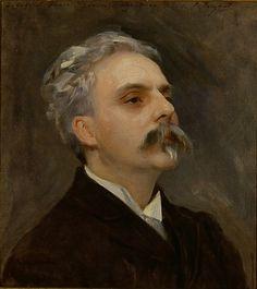 Gabriel Fauré - John Singer Sargent (American, Florence 1856-1925 London) 1889 Dimensions: 24 x 21 1/2 in. (60.9 x 54.6cm)