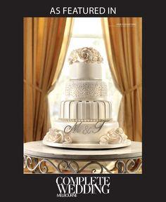 @hoecmichelle #weddingcake #fourtier #roses