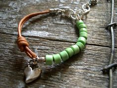 Your place to buy and sell all things handmade Handmade Bracelets, Bracelets For Men, Jewelry Bracelets, Jewlery, Jewellery Diy, Bangles, Artisan Jewelry, Handcrafted Jewelry, Ibiza