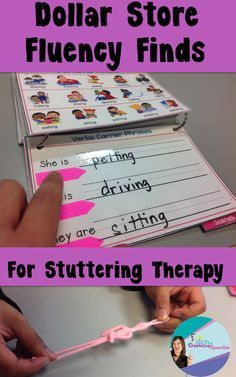 Dollar Store Fluency Finds For Stuttering Therapy from The Dabbling Speechie. Pinned by SOS Inc. Resources. Follow all our boards at pinterest.com/sostherapy/ for therapy resources.