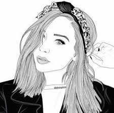 Resultado de imagen para imagenes tumblr de chicas musicales dibujadas