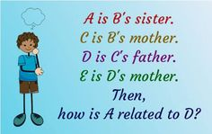 Puzzle Of The Day : A is B's sister | Fun Things To Do When Bored