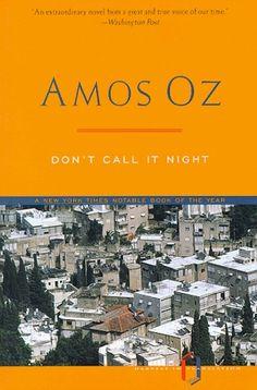 Amos Oz-Don't call it Night