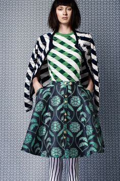 Thom Browne #pattern #mixing #fashion